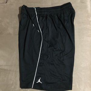 Jordan Dry-fit shorts.